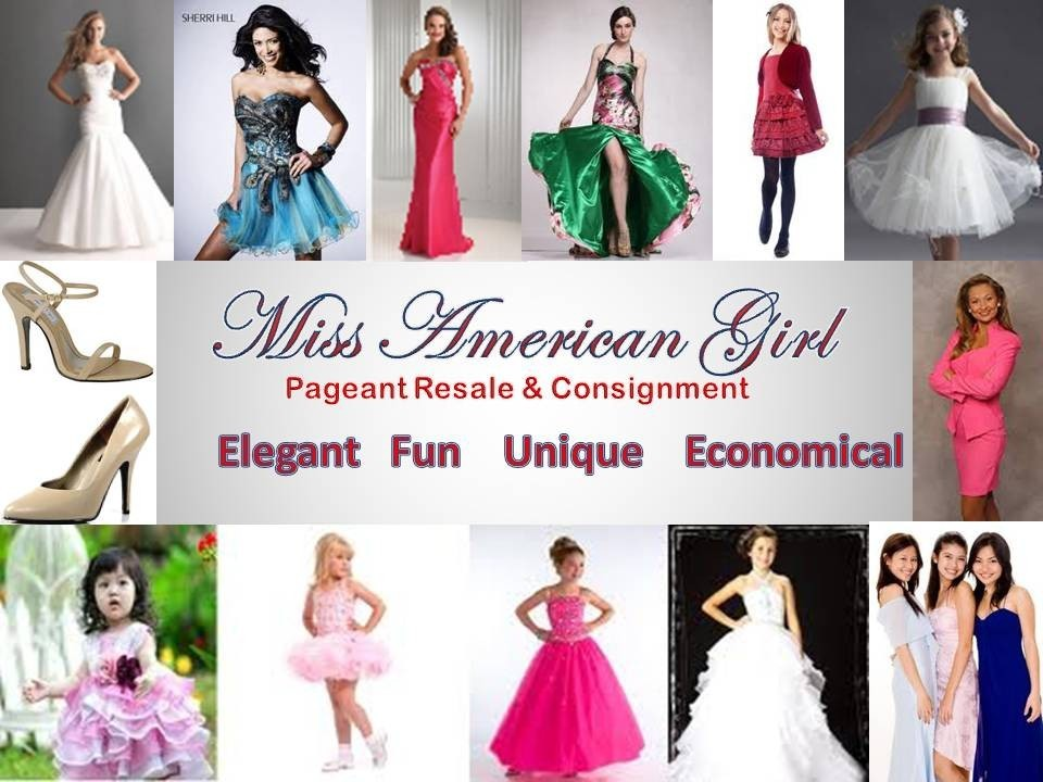 miss american girl pageants - Pageant Resale / Consignment